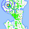 Click for map showing location of Azteca in Seattle (opens in new window)