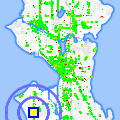 Click for map showing location of Again and a Gain in Seattle (opens in new window)