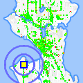 Click for map showing location of Express Fuel in Seattle (opens in new window)