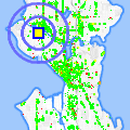 Click for map showing location of Atlas Construction Specialties in Seattle (opens in new window)