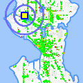 Click for map showing location of Ballard Massage Specialist in Seattle (opens in new window)