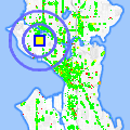 Click for map showing location of AM/PM in Seattle (opens in new window)