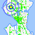 Click for map showing location of Bad Albert's in Seattle (opens in new window)