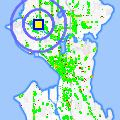 Click for map showing location of Bit Saloon in Seattle (opens in new window)