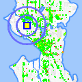 Click for map showing location of Chuck Dagg State Farm in Seattle (opens in new window)