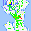Click for map showing location of Cafe Keffa in Seattle (opens in new window)