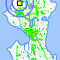 Click for map showing location of Seracare Plasma Center in Seattle (opens in new window)