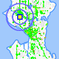 Click for map showing location of Madera in Seattle (opens in new window)
