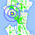 Click for map showing location of King James in Seattle (opens in new window)