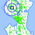 Click for map showing location of Cash & Carry in Seattle (opens in new window)