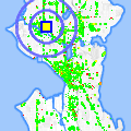 Click for map showing location of MKE Detailing Service in Seattle (opens in new window)
