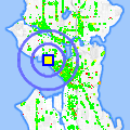 Click for map showing location of Queen Anne Upholstery in Seattle (opens in new window)