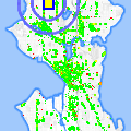 Click for map showing location of Pagliacci Pizza Delivery in Seattle (opens in new window)