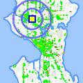 Click for map showing location of Professional Health Assoc in Seattle (opens in new window)