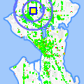 Click for map showing location of Slave to the Needle in Seattle (opens in new window)
