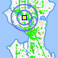 Click for map showing location of The Travel Team in Seattle (opens in new window)