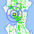 Click for map showing location of Lindon Apts in Seattle (opens in new window)