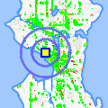 Click for map showing location of Crescent Arms in Seattle (opens in new window)