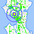 Click for map showing location of Colaizzo Opticians in Seattle (opens in new window)