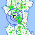 Click for map showing location of Pho Than Brothers in Seattle (opens in new window)
