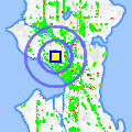 Click for map showing location of 5 Spot in Seattle (opens in new window)