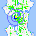 Click for map showing location of Caffe Zingaro in Seattle (opens in new window)