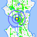 Click for map showing location of Seattle Center House in Seattle (opens in new window)