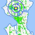 Click for map showing location of Sunny Teriyaki in Seattle (opens in new window)