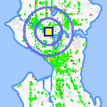 Click for map showing location of Silence-Heart-Nest in Seattle (opens in new window)