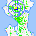 Click for map showing location of American Music in Seattle (opens in new window)