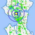 Click for map showing location of Classic Connections in Seattle (opens in new window)