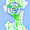 Click for map showing location of Blue Moon Burgers in Seattle (opens in new window)