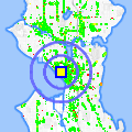 Click for map showing location of Arbor Deli in Seattle (opens in new window)