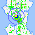 Click for map showing location of Crow in Seattle (opens in new window)