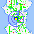 Click for map showing location of A'jhang Market in Seattle (opens in new window)