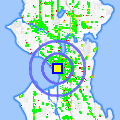 Click for map showing location of Elliott Bay Bicycles in Seattle (opens in new window)