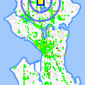 Click for map showing location of Frasers Auto Sales in Seattle (opens in new window)