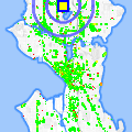 Click for map showing location of Advance til Payday in Seattle (opens in new window)