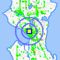 Click for map showing location of KEXP 90.3 FM in Seattle (opens in new window)