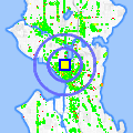 Click for map showing location of Sun West Flooring in Seattle (opens in new window)