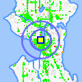 Click for map showing location of The Barking Lounge in Seattle (opens in new window)