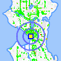 Click for map showing location of Northwest Tribal Art in Seattle (opens in new window)