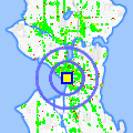 Click for map showing location of Only in Seattle in Seattle (opens in new window)