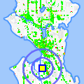 Click for map showing location of Seattle Lighting Outlet in Seattle (opens in new window)