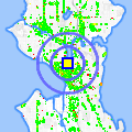 Click for map showing location of 76 Station in Seattle (opens in new window)