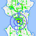 Click for map showing location of Ancient Grounds in Seattle (opens in new window)
