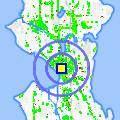 Click for map showing location of Westlake Shops in Seattle (opens in new window)