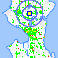 Click for map showing location of Jhanjay Vegetarian Thai in Seattle (opens in new window)