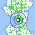 Click for map showing location of Seattle Sunglass in Seattle (opens in new window)