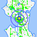 Click for map showing location of Lake Union Wholesale Florist in Seattle (opens in new window)